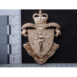 Anodised Melbourne University Regt Cap Badge