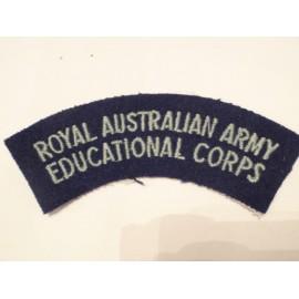 Royal Australian Army Educational Corps Shoiulder Title