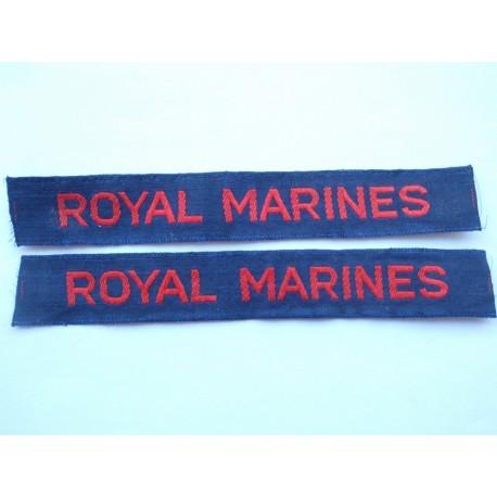Royal Marines Silk Cash Tapes