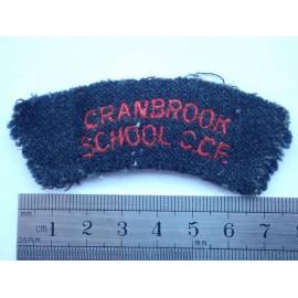 Cranbrook School CCF Title