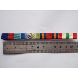 WW2 Italy, Burma & Atlantic Medal Bar