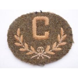 'C' Trade Badge