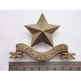 The Cameronians (Scottish Rifles) Pipers Badge