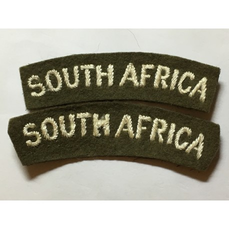 WW2 South Africa national titles