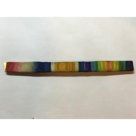 WW1 trio medal ribbon bar