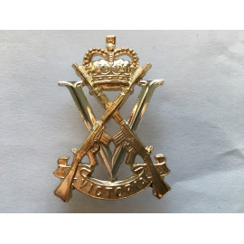 Australian Royal Victoria regiment hat badge