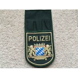 German POLIZEI sleeve patch and pen holder