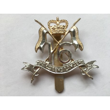 16th/5th Queens royal lancasters cap badge