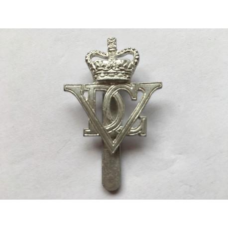 Anodised 5th Royal Inniskilling Dragoon Guards cap badge