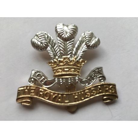 Anodised the Royal Hussars cap badge