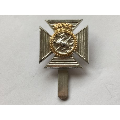 Anodised duke of Edinburgh royal regiment cap badge