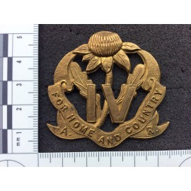 Australian 4th Inf Bn (The Australian Rifles) Hat Badge