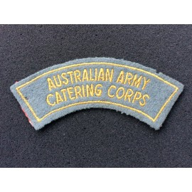 Australian Army Catering Corps 1948 - 1960 Title.