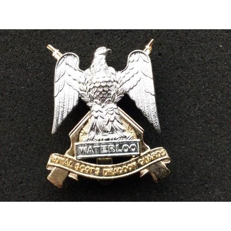 Royal Scots Dragoon Guards Anodised Cap Badge