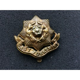 The East Yorkshire Rest b/m Cap Badge