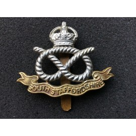 South Staffordshire Regt b/m Cap Badge