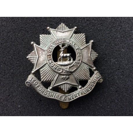 The Bedfordshire & Hertfordshire Regt Cap Badge
