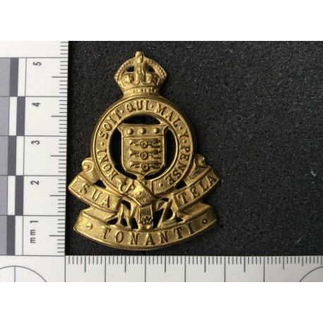 New Zealand Army Ordance Corps Cap Badge.