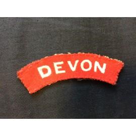 WW2 Devon Wool Title