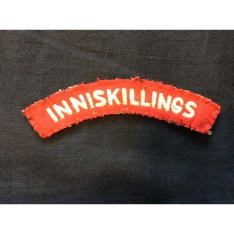 WW2 Inniskillings Wool Title