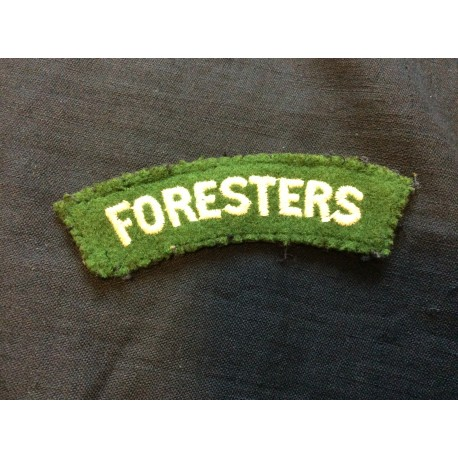 Foresters Wool Title
