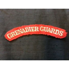 WW2 Grenadier Guards Wool Title