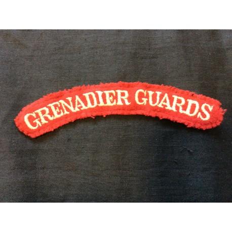 WW2 Grenadier Guards Wool Title