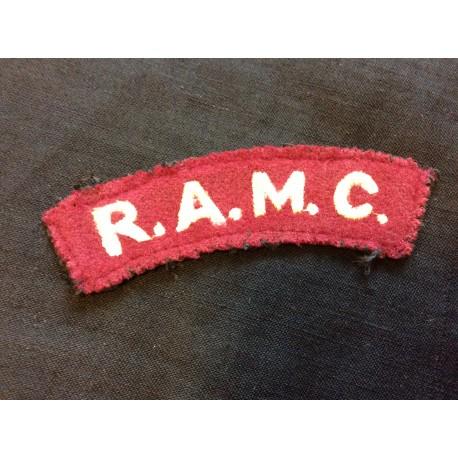 WW2 R.A.M.C Wool Title