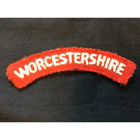 WW2 Worcestershire Wool Title