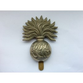 H.A.C White Metal Cap Badge
