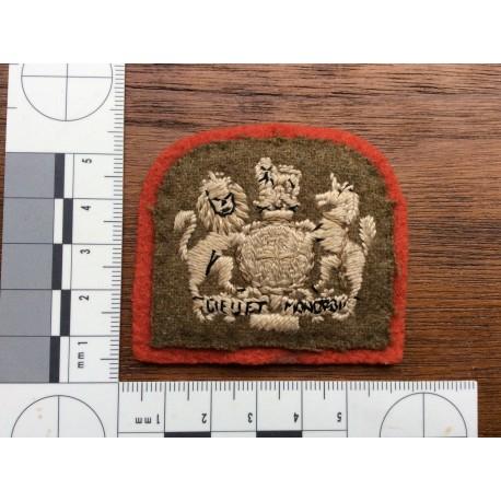 WW1/2 Warrant Officers Sleeve Badge