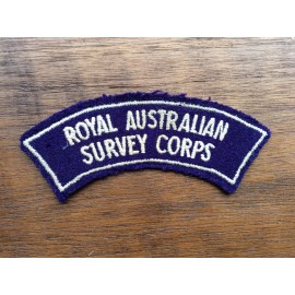 Royal Australian Survey Corps Title