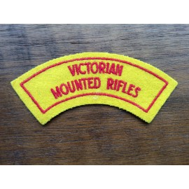 Victorian Mounted Rifles Title