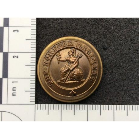 The Norfolk Regiment Officers Button