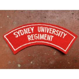 Sydney University Shoulder Title
