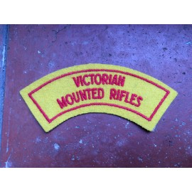 8/13 Victorian Mounted Rifles Shoulder Title