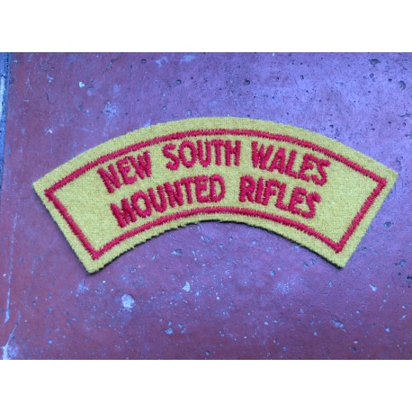 NSW Mounted Rifles Title 1948 - 1960