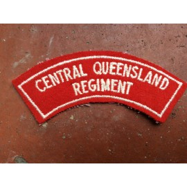 Central Queensland Regt Title