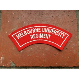 Melbourne University Regt Title