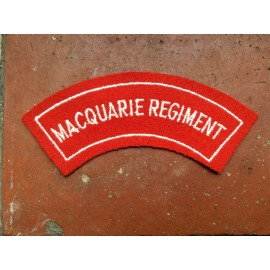 Macquarie Regiment Title 1948 -1960