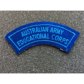 Australian Army Educational Corps Title