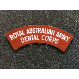 Royal Australian Army Dental Corps Title
