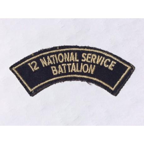 Australian 12 National Service Battalion Title