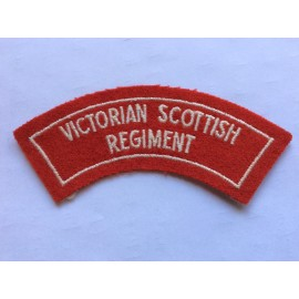 Victorian Scottish Regiment Title