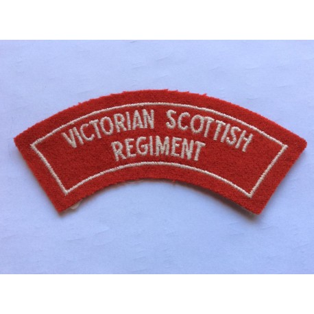 Victorian Scottish Regiment Title