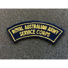 Royal Australian Army Service Corps Title