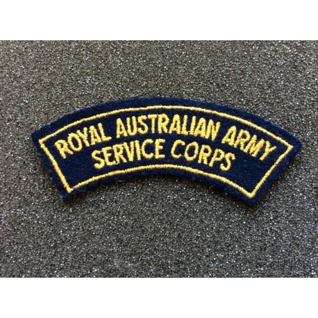 Royal Australian Army Service Corps Title
