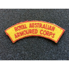 Royal Australian Armoured Corps Title
