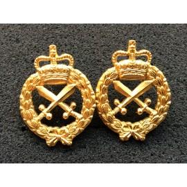 Australian Provost Corps Gilt Collars