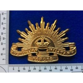 Australian 4th Pattern Rising Sun Hat badge by AMOR